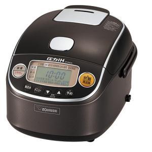 象印 圧力IH炊飯器 極め炊き NP-RX05-TD ダークブラウン [3合炊き]|emedama