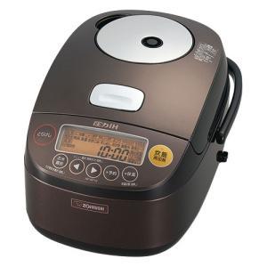 象印 圧力IH炊飯器 極め炊き プラチナ厚釜 NP-BF10-TD ダークブラウン [5.5合炊き]|emedama