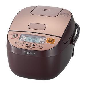 象印 マイコン炊飯器 極め炊き NL-BB05-TM カッパーブラウン [3合炊き]|emedama