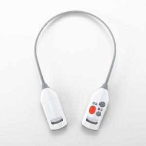 ツインバード 首にかけるだけ ワイヤレス耳元スピーカー AV-J343W|emedama