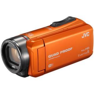 JVCケンウッド ハイビジョンメモリームービー Everio R GZ-RX600-D オレンジ 《納期未定》