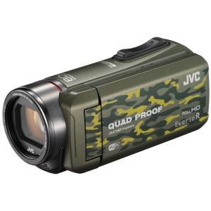 JVCケンウッド ハイビジョンメモリームービー Everio R GZ-RX600-G カモフラージュ 《納期未定》