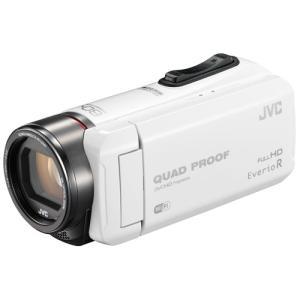 JVCケンウッド ハイビジョンメモリームービー Everio R GZ-RX600-W ホワイト 《納期未定》