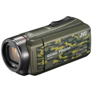 JVCケンウッド ハイビジョンメモリームービー Everio R GZ-R400-G カモフラージュ 《納期未定》