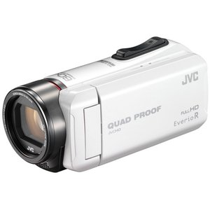 JVCケンウッド ハイビジョンメモリームービー Everio R GZ-R400-W パールホワイト 《納期未定》