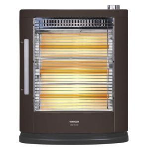 YAMAZEN 加湿機能付き 遠赤電気ストーブ DSE-KC105-T ブラウン 《納期約1週間》|emedama