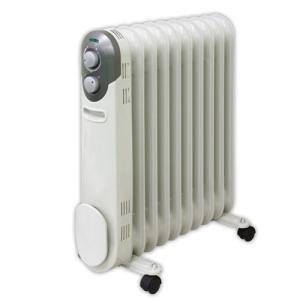 YAMAZEN オイルヒーター DO-L123-W ホワイト|emedama