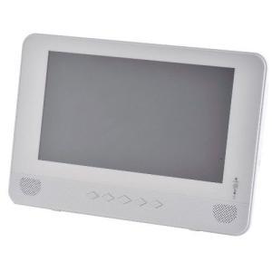 キュリオム 9インチ ポータブル防水DVDプレーヤー TPD-L90FW-W 《納期約1ヶ月》|emedama