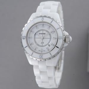 【60回無金利】 シャネル レディース腕時計 J12 12Pダイヤ  H1628|emedama