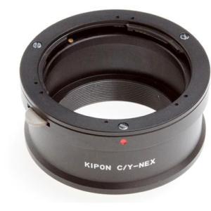 KIPON マウントアダプター C/Y-NEX [レンズ側:コンタックス/ヤシカ ボディ側:ソニーE] 《納期約1−2週間》|emedama
