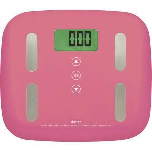 ドリテックのヘルスメーター。体脂肪率や体重を計測してダイエットの効率化をお勧めします。 サイズ:(約...