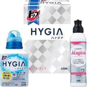 トップハイジアブランドの「衣料用洗剤+除菌消臭スプレー」を詰め合わせた衛生商品のセットです。内容:ト...