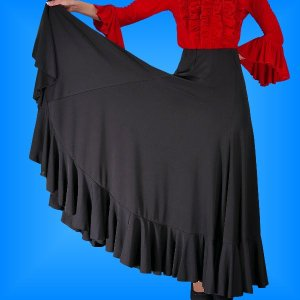 フラメンコ 衣装 スカート 2034b emika