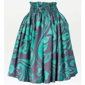 フラダンス衣装パウスカート78cm丈 2232|emika