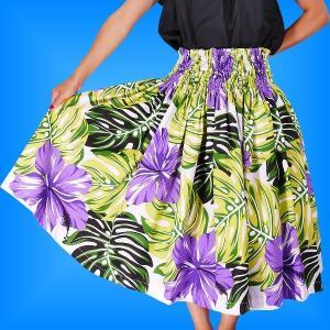 フラダンス衣装パウスカート78cm丈 2238|emika