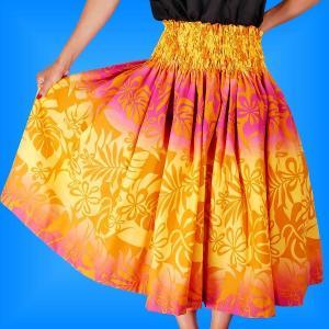 フラダンス衣装パウスカート78cm丈 2250|emika