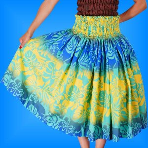 フラダンス衣装パウスカート78cm丈 2254|emika
