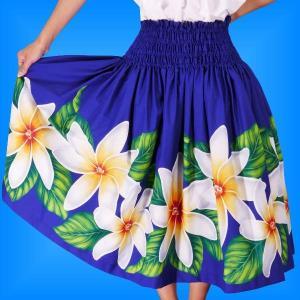 フラダンス衣装パウスカート78cm丈 2277|emika