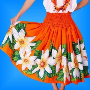 フラダンス衣装パウスカート78cm丈 2279|emika