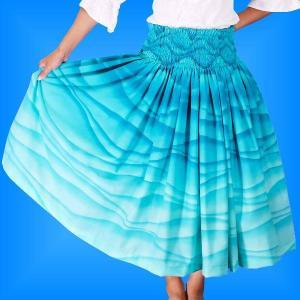 フラダンス衣装パウスカート78cm丈 2292|emika