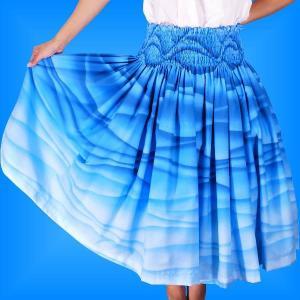 フラダンス衣装パウスカート78cm丈 2298|emika