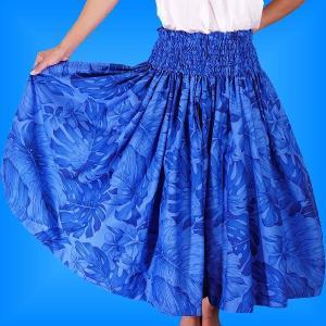フラダンス衣装パウスカート78cm丈 2311|emika