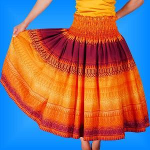 フラダンス衣装パウスカート78cm丈 2321|emika