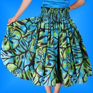 フラダンス衣装パウスカート78cm丈 2330|emika