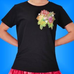 フラTシャツ レフア  ブラック  3L 2335 3lb|emika