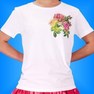 フラTシャツ レフア  ホワイト  3L 2335 3lw|emika