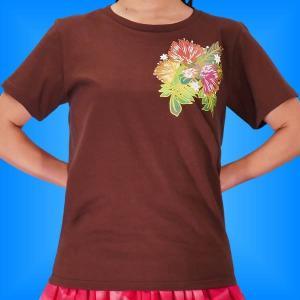 フラTシャツ レフア ブラウン L 2335lbr|emika