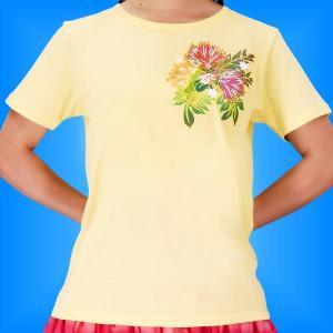 フラTシャツ レフア イエロー L 2335ly|emika