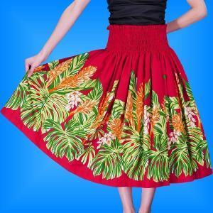 フラダンス衣装パウスカート78cm丈 2361|emika