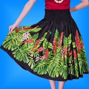 フラダンス衣装パウスカート78cm丈 2363|emika