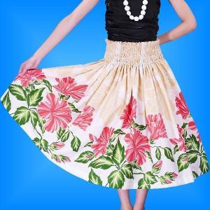 フラダンス衣装パウスカート78cm丈 2367|emika