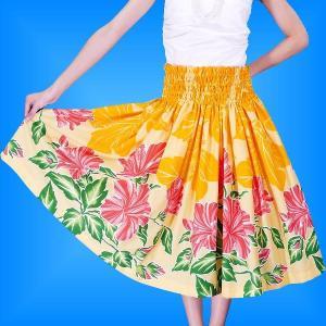 フラダンス衣装パウスカート78cm丈 2386|emika