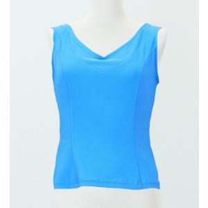 フラメンコ ブラウス ライトブルー フリーサイズ 2433lblf|emika