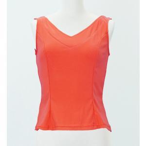 フラメンコ ブラウス オレンジ フリーサイズ 2433orf|emika