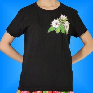 フラダンス Tシャツ [M]  リリコイ ブラック 974mb