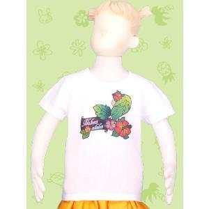 フラダンス ケイキTシャツ キッズ ホワイト ...の詳細画像1