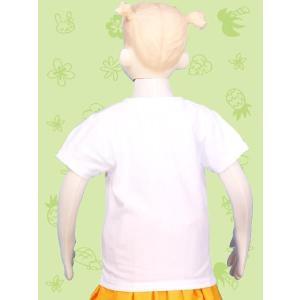 フラダンス ケイキTシャツ キッズ ホワイト ...の詳細画像2