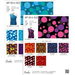 フラメンコ生地サンプル 水玉柄 2枚セット KF-011|emika