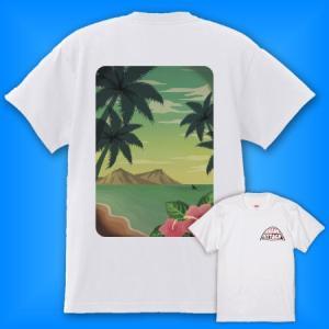 メンズ ハワイアンTシャツ [M/L/2L] mt006w|emika