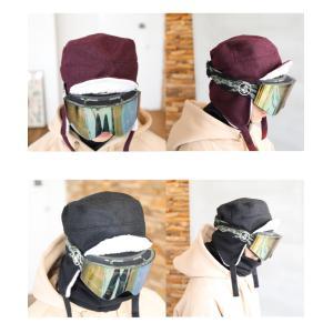 【ゆうパケット可能】 スノーボード 裏BOA耳付きワークキャップ  スキー  WORKCAP ウォッチキャップ  snj-141|emilu-young|05