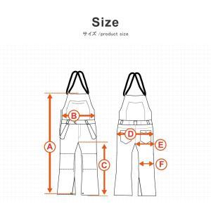 スノーボードウェア ビブパンツ 軽量化ビブパンツ メンズ レディース snj-163|emilu-young|13