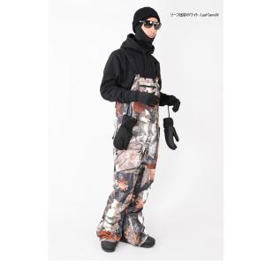 スノーボードウェア ビブパンツ 軽量化ビブパンツ メンズ レディース snj-163|emilu-young|10