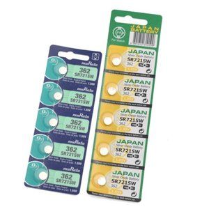 SR721SW(362) 酸化銀ボタン電池 【muRata ムラタ】村田製作所 1シート( 5個パック)|emilysshop