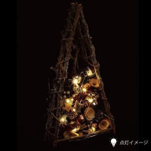 ナチュラルLEDツリー★ホワイト【クリスマス特集 リース 飾り】|emiook|02