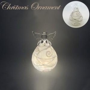 ガラスLEDエンジェル 41304【東洋石創 クリスマス特集】|emiook
