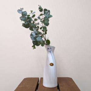7606  バッチャン焼 蓮 つぼみ 花瓶 |emiook